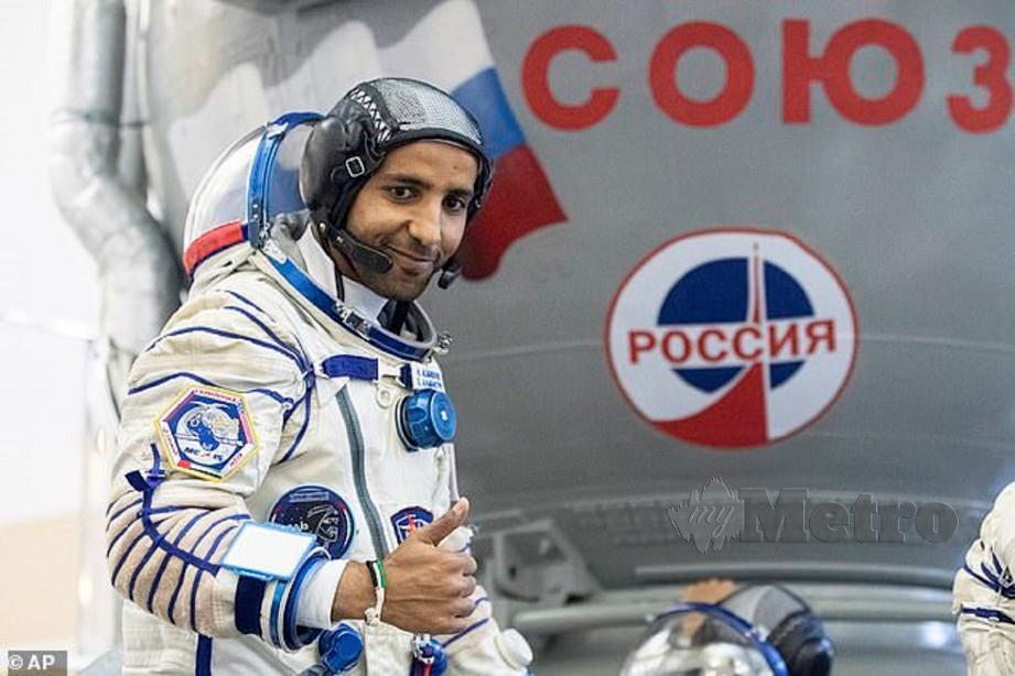 HAZZAA akan berada di angkasa selama lapan hari. - Agensi