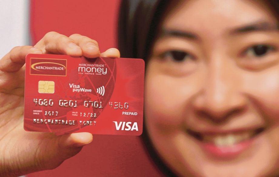 KAD prabayar Visa, Merchantrade Money.