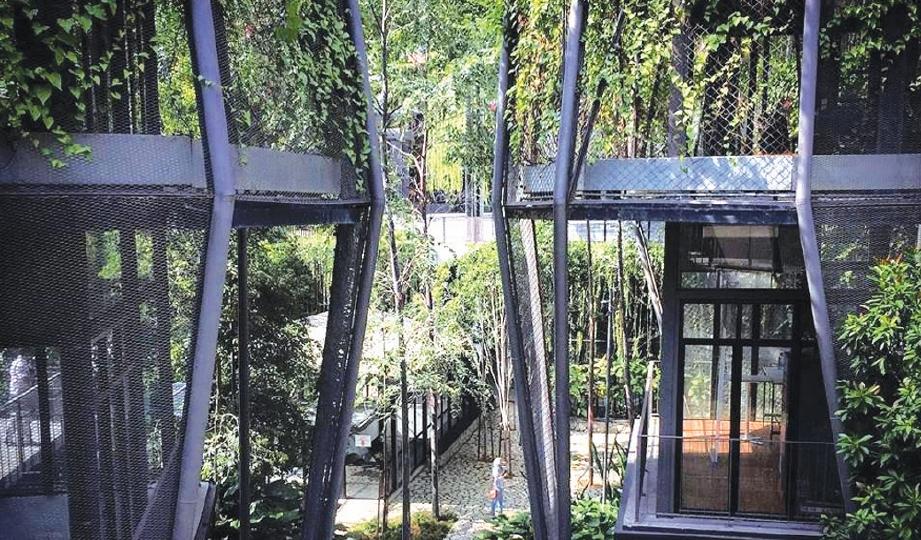 MENGGALAKKAN bangunan memperuntukkan ruang hijau vertikal sebanyak lima peratus.
