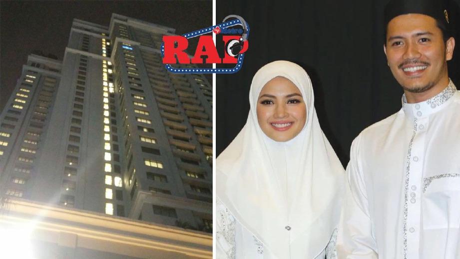FATTAH (kanan) dan Fazura selepas kembali dari Makkah, minggu lalu dan hotel dikatakan lokasi majlis pernikahan secara tertutup. FOTO arkib NSTP dan Amirul Haswendy Ashari