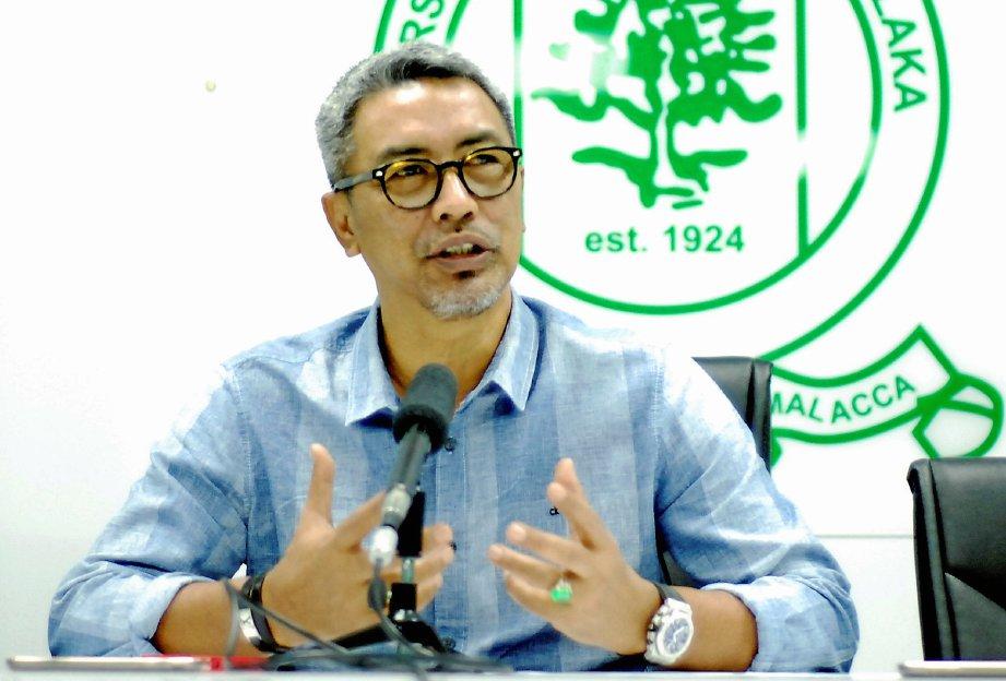 TIMBALAN Presiden Persatuan Bolasepak Malaysia (FAM), Datuk Mohd Yusoff Mahadi. - Foto Hasbullah Azhar