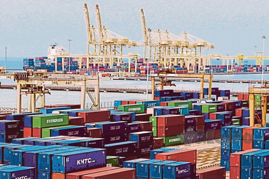 PRESTASI eksport Malaysia mencatatkan pertumbuhan positif sebanyak 8.8 peratus.