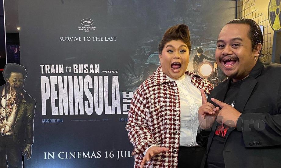 FILEM Korea Selatan, Peninsula yang turut menampilkan  pelakon Malaysia menjadi filem pecah panggung pertama di negara ini sebaik pawagam mula beroperasi pada 1 Julai lalu.