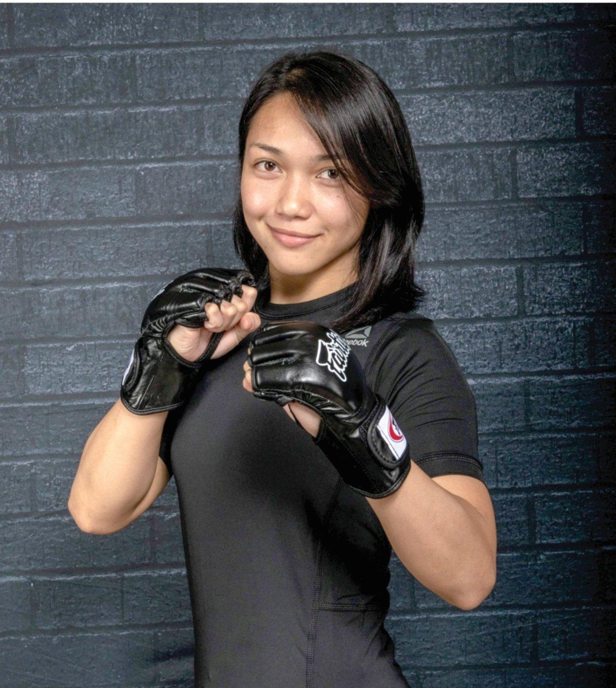 BUKTIKAN wanita boleh terbabit dengan sukan MMA.