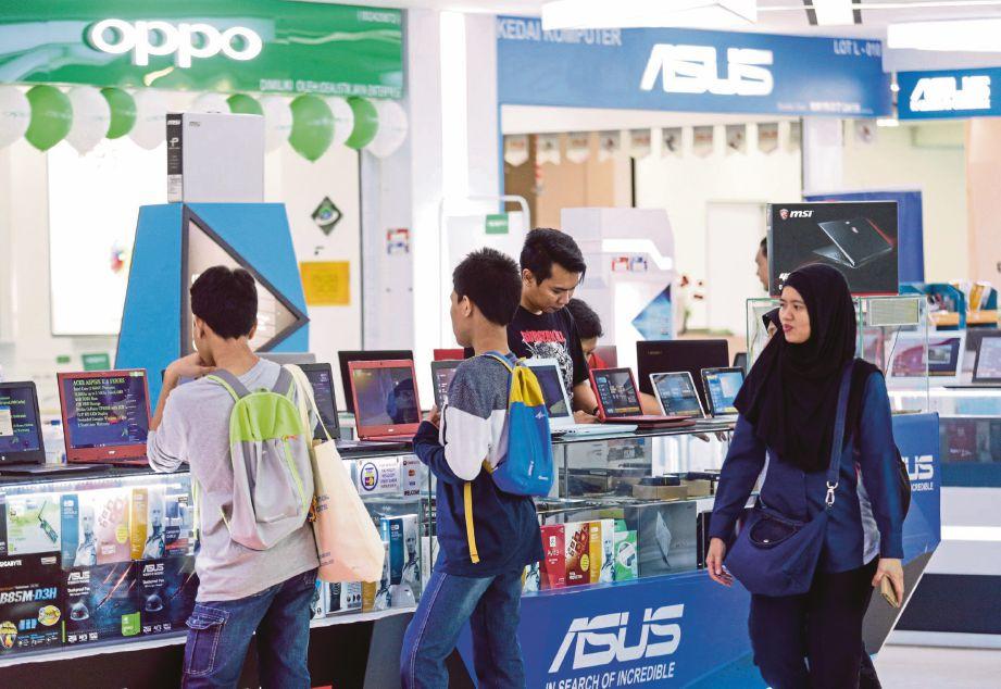 MARA Digital menjadi pusat sehenti jualan gajet dan peralatan ICT.