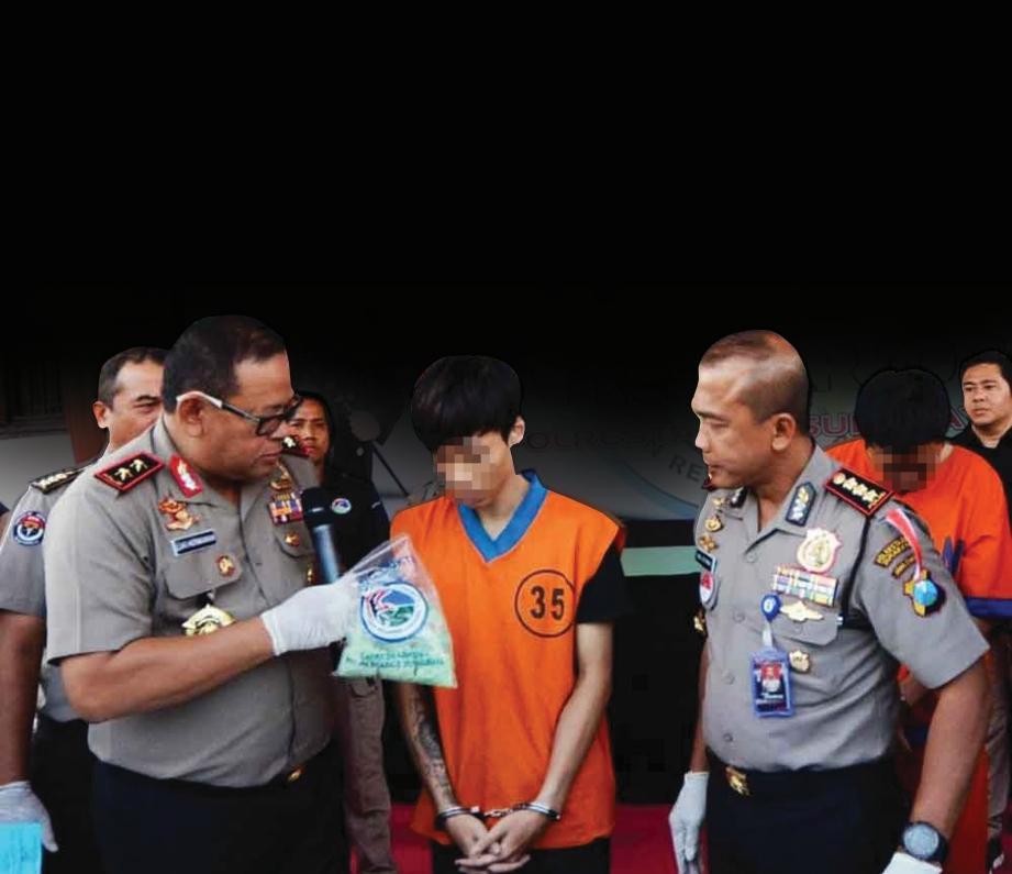 PEMUDA warga Malaysia berusia 23 tahun yang cuba menyeludup dadah syabu seberat 15 kilogram di Tanjung Balai, Indonesia.