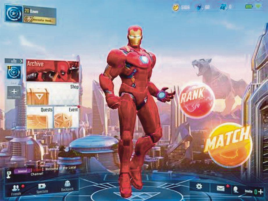 MARVEL Super War boleh dimuat turun di dua platform mudah alih.