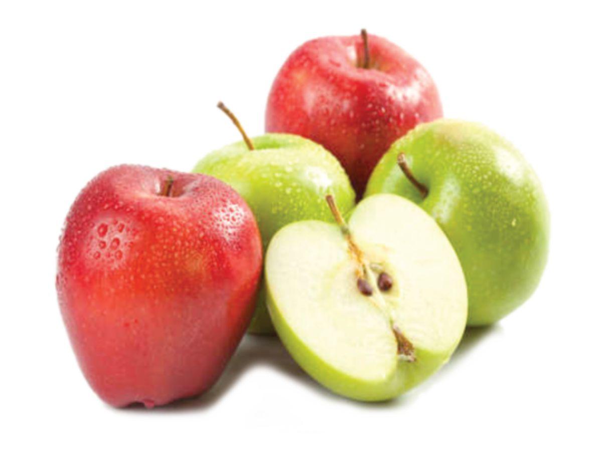PESAKIT kencing manis boleh menikmati epal merah dan hijau mengikut konsep pengambilan buah yang betul.