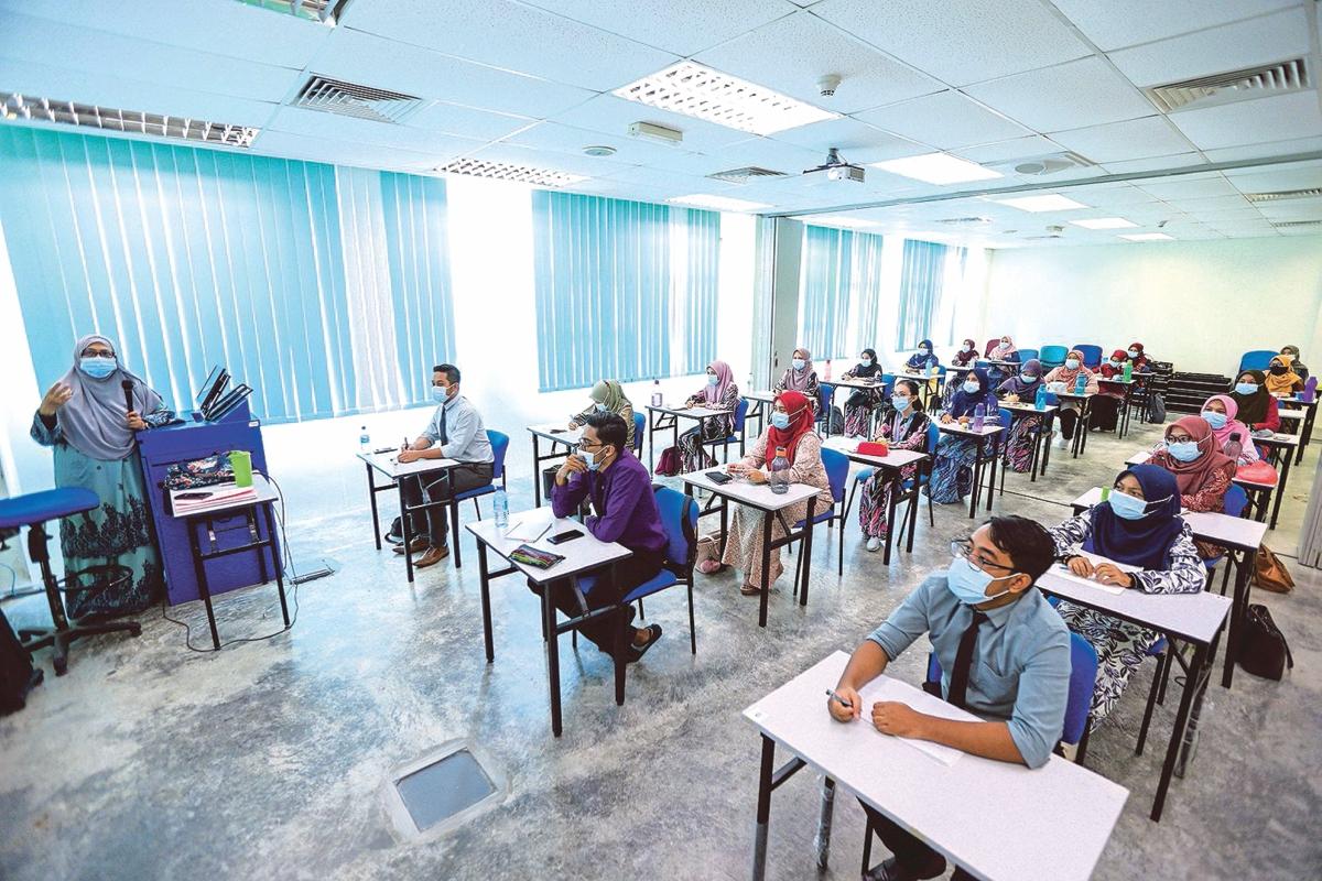 INSTITUSI pengajian sudah bersedia mencorakkan proses pengajaran dan pembelajaran (PdP) ketikaendemik.