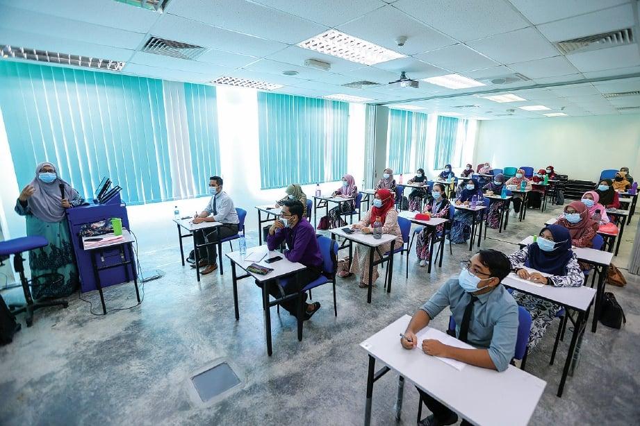 SUASANA pembelajaran baharu di Universiti Pendidikan Sultan Idris (UPSI).