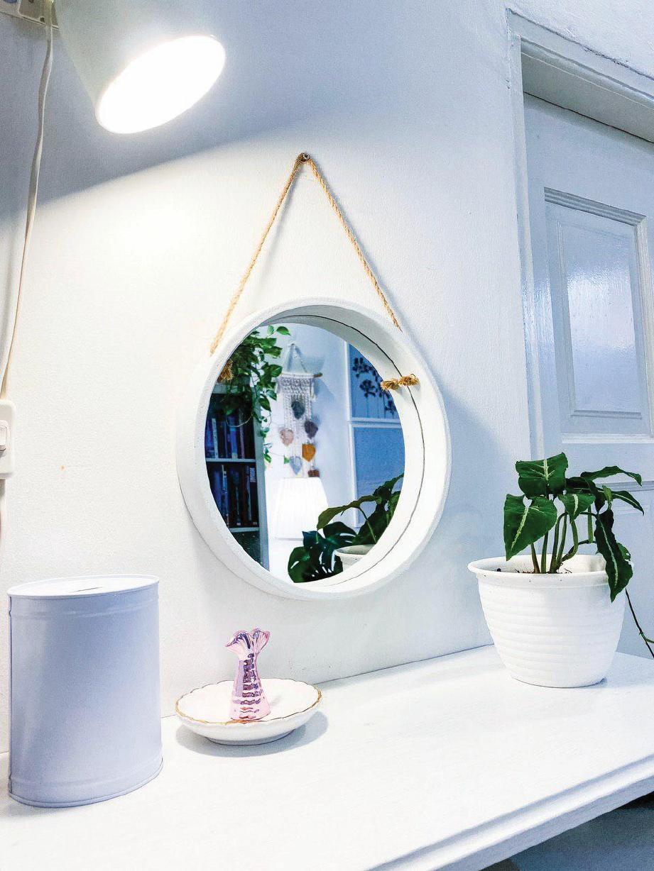 PENGGUNAAN cermin membantu pencahayaan dalam ruangan rumah sekali gus membolehkan kediaman tampak lebih luas.