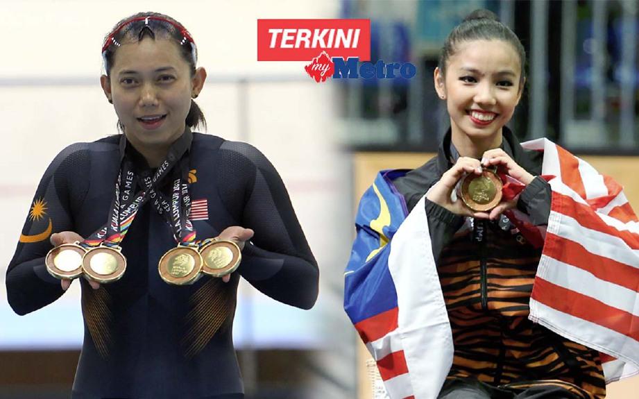 FATEHAH (kiri) dan Sie Yan bakal terima imbuhan tertinggi. -Foto NSTP
