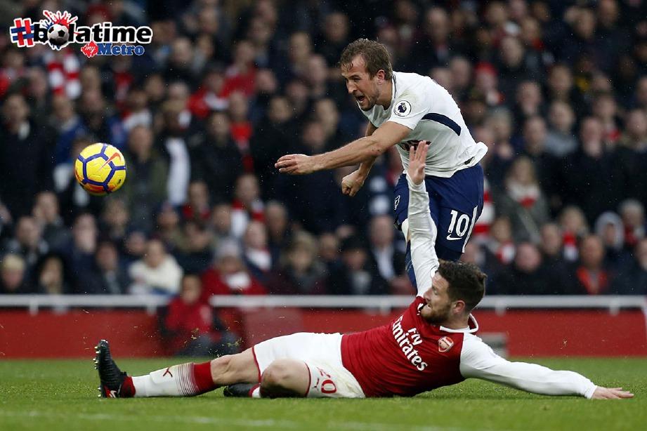 KANE (atas) mahu tamat kerjaya bersama Tottenham. -Foto AFP