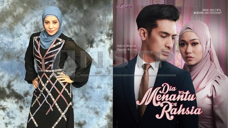A AIDA kecewa dengan pelakon utama drama Dia Menantu Rahsia yang tidak membantu promosi drama terbitannya. FOTO Ihsan A Aida