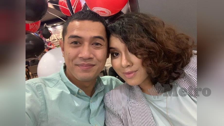 AMAR memaklumkan isterinya, Arna tahu dia berkawan dengan Ellika. FOTO Instagram Amar Asyraf