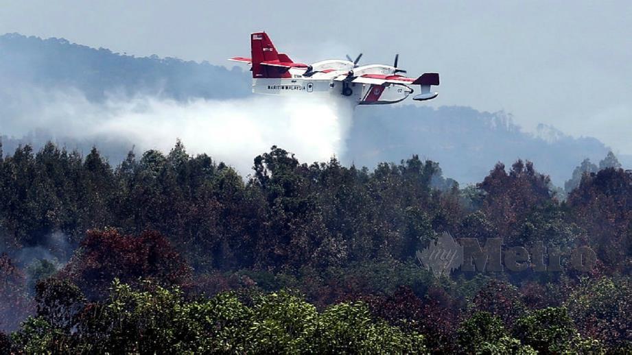 Pesawat Bombardier milik APMM. FOTO ARKIB NSTP