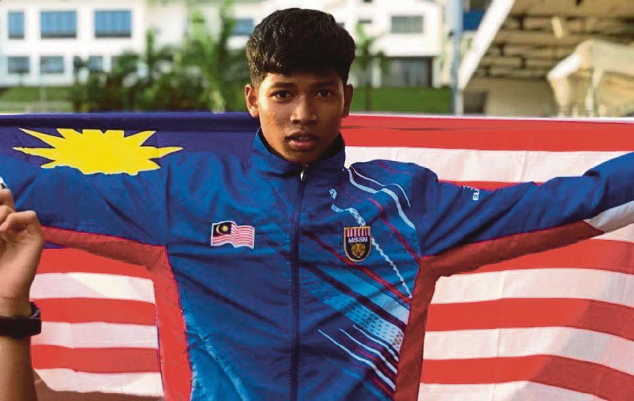 AZEEM mendapat julukan 'Usain Bolt Malaysia'.
