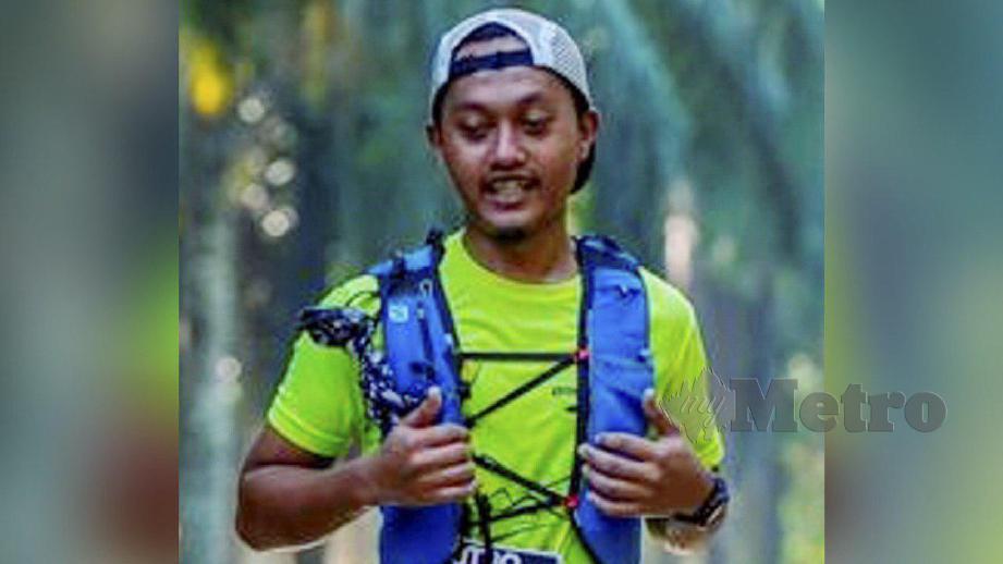 MOHAMAD Ashraf hilang ketika menyertai Gopeng Ultra Trail pada 23 Mac lalu. FOTO ihsan pembaca