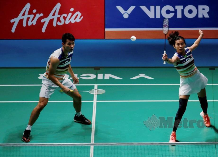 CHAN Peng Soon bersama Goh Liu Yin.