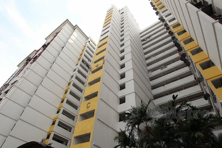 PPR Kerinchi, Kuala Lumpur. FOTO Hafiz Sohaimi.