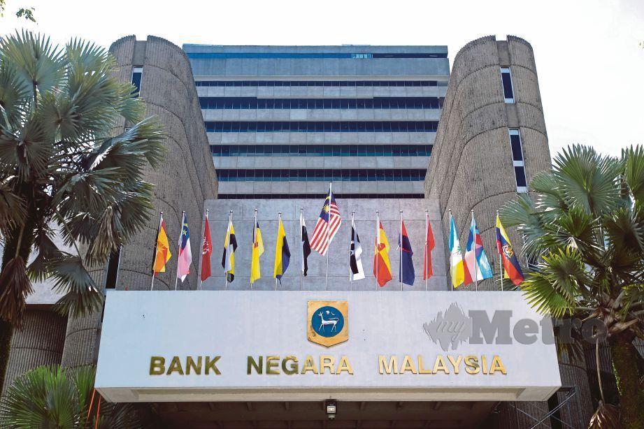 Bangunan Bank Negara. FOTO Asyraf Hamzah