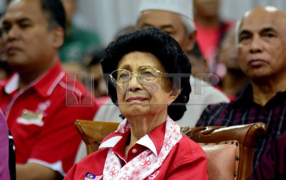 DR Siti Hasmah Mohd Ali. FOTO arkib NSTP