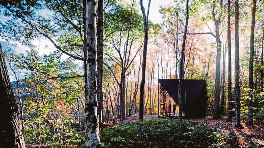 SESUAI dipasang di kawasan terpencil seperti dalam hutan.