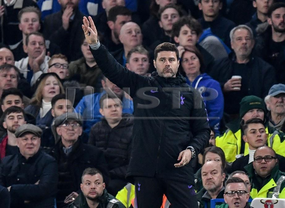 Pengurus Tottenham Hotspur Mauricio Pochettino. FOTO EPA.