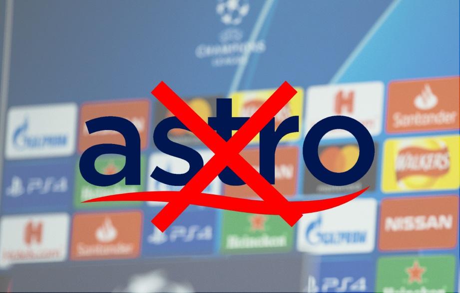 ASTRO mungkin tidak dapat menyiarkan aksi Liverpool menentang PSG secara langsung.