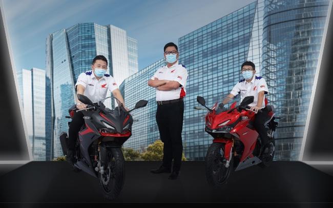 Honda CBR150R merupakan motosikal sport berprestasi tinggi yang dilengkapi ciri teknologi tinggi dengan menampilkan aura reka bentuk seakan motosikal berkuasa tinggi. - FOTO Boon Siew Honda.