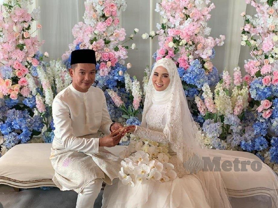 BELLA (kanan) anggap jodoh bersama Arif sudah tertulis. -Foto Sudirman Mohd Tahir