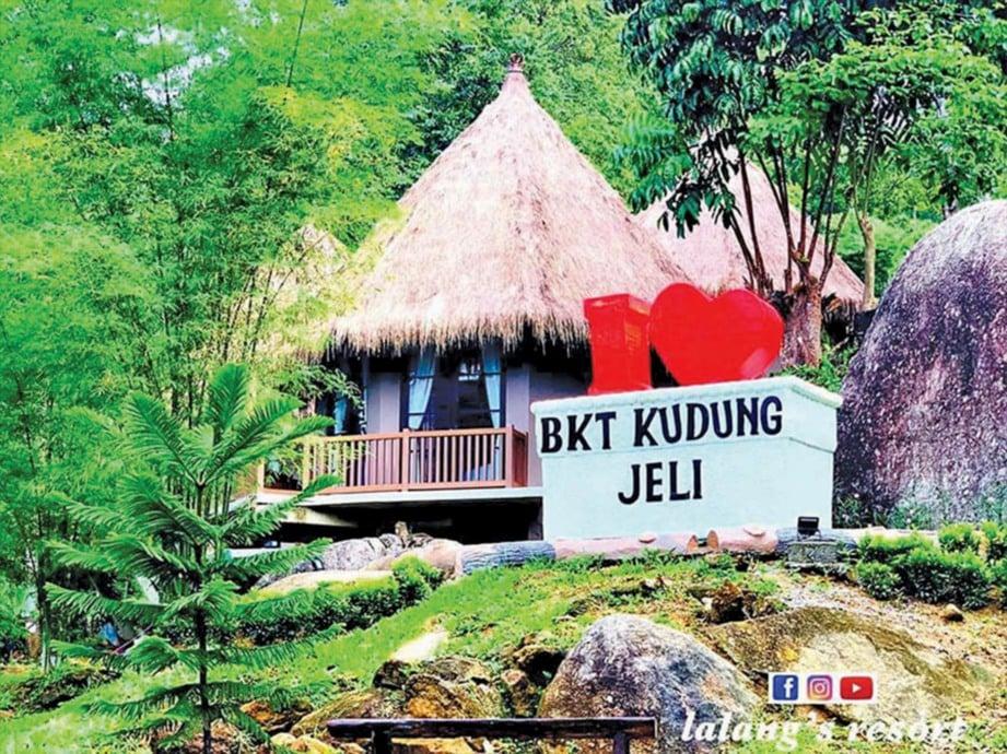BUKIT Kudung kini menjadi destinasi rekreasi popular di Kelantan. FOTO Ihsan Lalang's Resort & Spa & Sumber Google