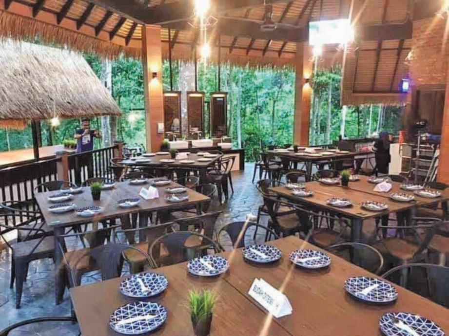 RESTORAN turut disediakan kepada pengunjung. FOTO Ihsan Lalang's Resort & Spa & Sumber Google