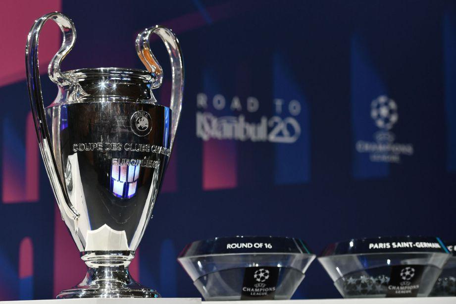 UEFA memutuskan baki saingan Liga Juara-Juara yang tertangguh akibat Covid-19 akan diadakan secara tertutup. FOTO Agensi