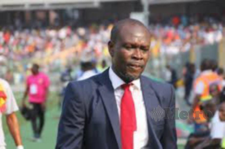 Bekas kapten skuad Black Stars, Charles Kwabla Akonnor di lantik jurulatih skuad Ghana. FOTO Agensi