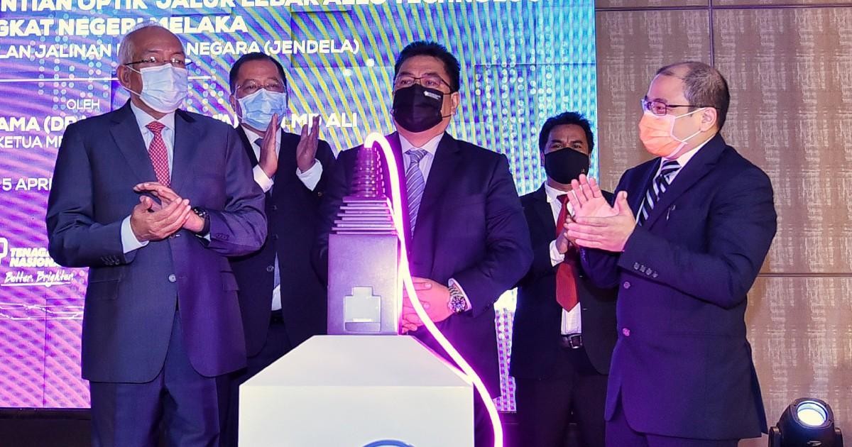 Lonjak capaian internet di Melaka