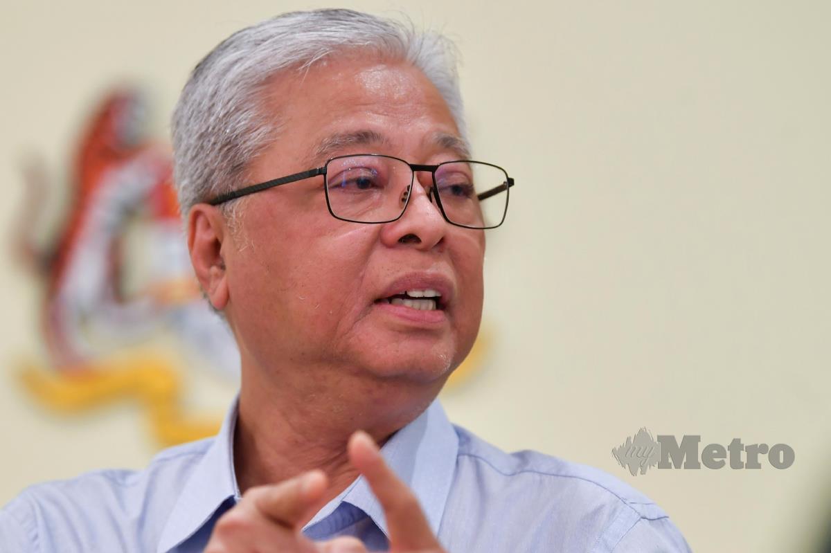 Ismail Sabri Yaakob.