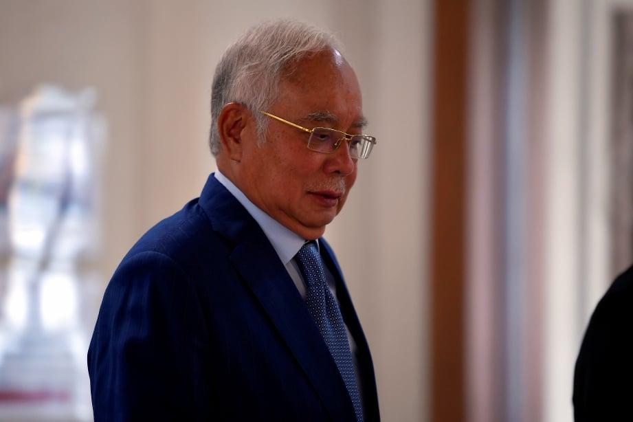 DATUK Seri Najib Tun Razak. FOTO BERNAMA