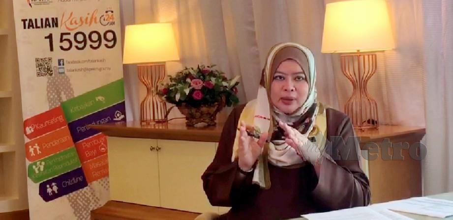 DATUK Seri Rina Mohd Harun. FOTO Arkib NSTP