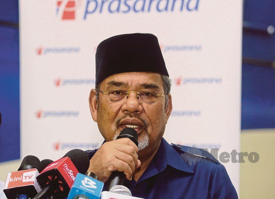 TAJUDDIN Abdul Rahman. FOTO Bernama