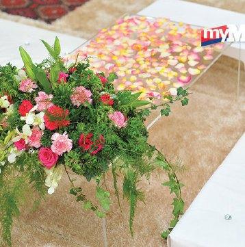 dekorasi meja nikah | harian metro