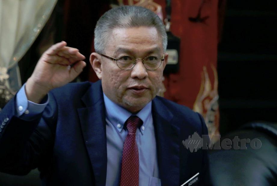 MENTERI Kesihatan, Datuk Seri Dr Adham Baba. FOTO arkib NSTP