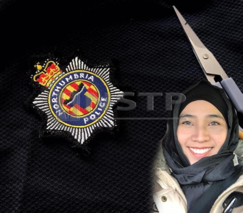 DR ELIESMAZIAH, pereka tempatan yang menempa nama di UK apabila tudung rekaannya digunakan oleh polis wanita Muslim di UK.