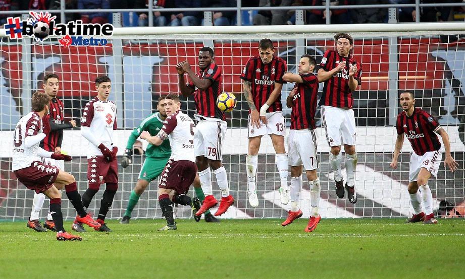 GATTUSO dilantik menjadi pengurus baru Milan menggantikan Montella yang bermula hambar. -Foto AFP
