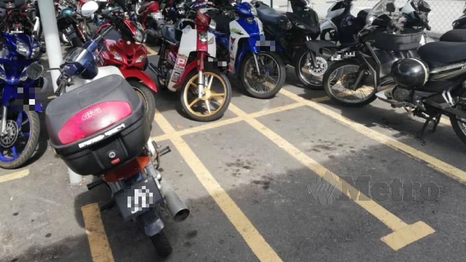 LOKASI dua remaja mencuri Honda EX5. FOTO Ihsan Polis.