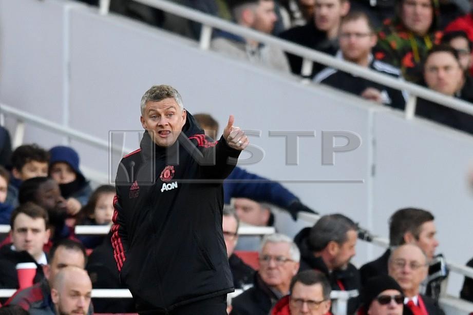Pengurus Manchester United, Ole Gunnar Solskjaer. FOTO AFP.