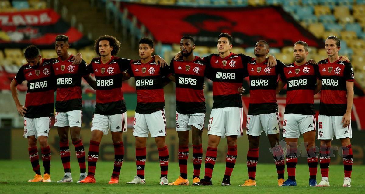 FLAMENGO turut terbabit dalam pemecatan jurulatih musim ini walaupun berada di kedudukan ketiga terbaik liga. FOTO AFP