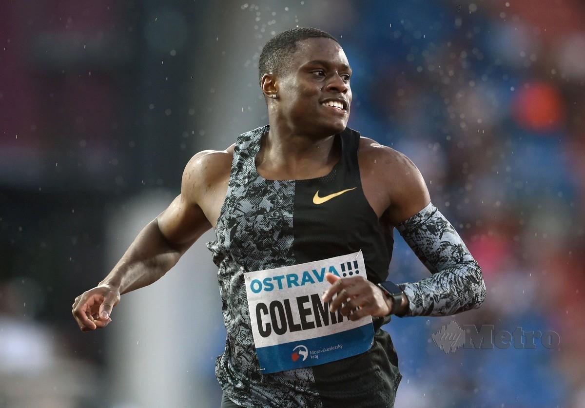 Christian Coleman. FOTO AFP