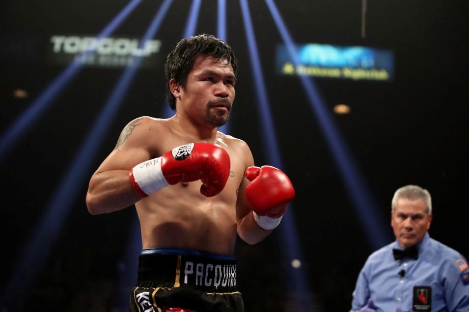 Manny Pacquiao. FOTO AFP.