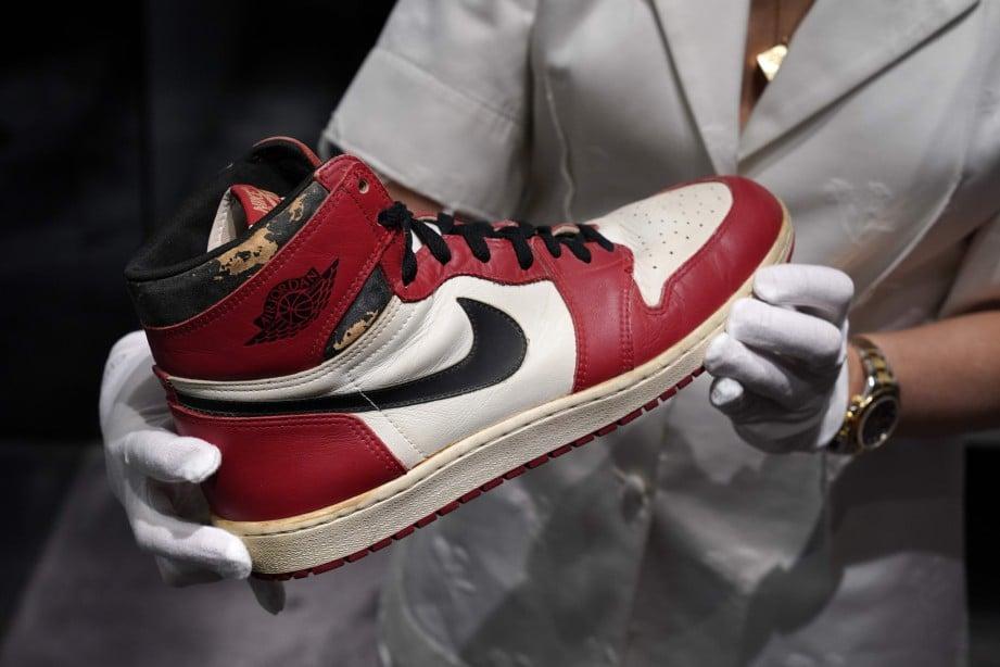 Rm2 5 Juta Untuk Kasut Michael Jordan Harian Metro